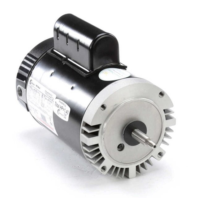 Century Electric Motor 1 HP 2-SPEED 56J Frame 230V