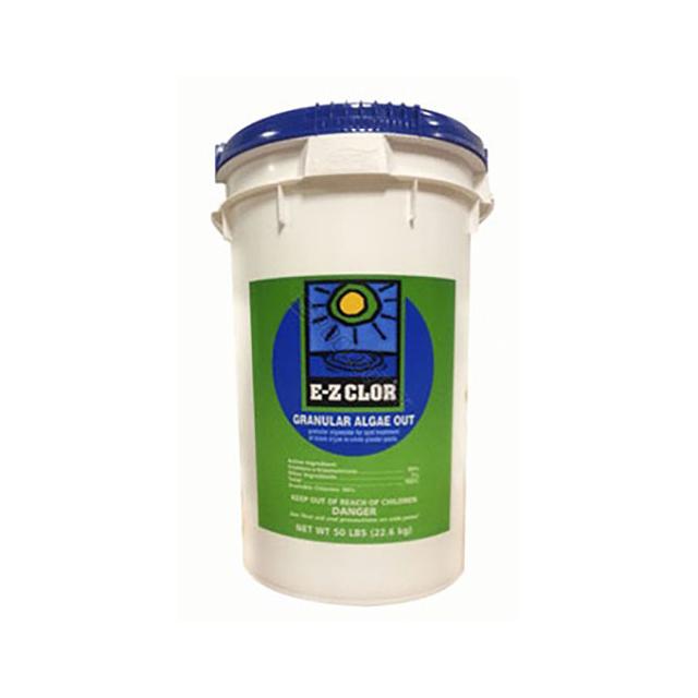 EZ-Clor 50 lbs Alega Out Granular Chlorine Shock