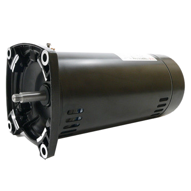 Century Electric Motor 2 Hp Dual Speed 56j Frame 230v